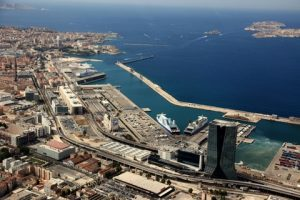 A view of the Port of Marseilles