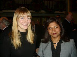 Deborah Farr and Jessie Carvalho from the Shipowners Claim Bureau London office