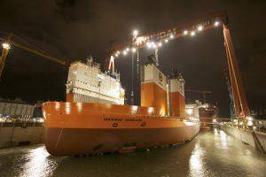 Flooding dock Vanguard vrij te gebruiken