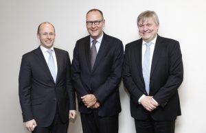 Hinrich Stahl, Maryland GmbH, Erik van der Noordaa, CEO GL Group, Henrik O. Madsen, CEO DNV.