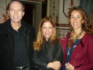 Calliope with Andreas and Milena Tsavliris