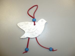 The dove; this year's charm