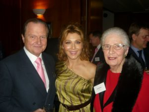 George A. Tsvliris, his wife Zoe and inge Mitchell