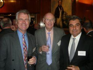 Simon Kverndall QC, Jim Davis and Dimitris N. Kardiakopoulos