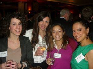 Tysers Tani Bourla, LOC's Maria Dragoumeli, Richards Hogg Lindley Maria Mavroudi and LSLC's Ioanna Tsekoura