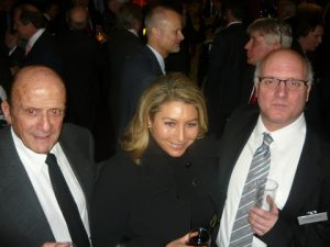 Nicos Lemos, Coutts' Helena Mavrogonatou and GSCC's Director Commodore (Rt.HCG) Constantinos Amarantidis