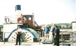 Paddle steamer Kingswear Castle