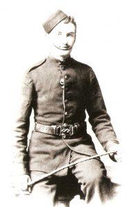 Christine Sherlock's grandfather Richard, a one-time steward with P&O liners
