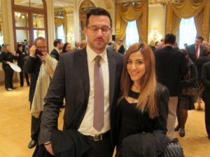 Dimitris Agelopoulos with Kalliopi Vogiatzi - photo by P. Nikoulis