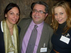 Anna Londou, Dino Symeonides and Gosia Kosciolek