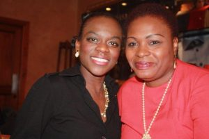 Winifred Adeyemi and Belinda Brown