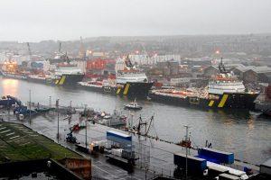 BP North Sea vessels