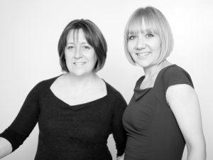 Fiona Morris and Christine Martin