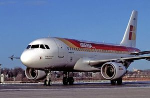 An Iberia Airline's jet