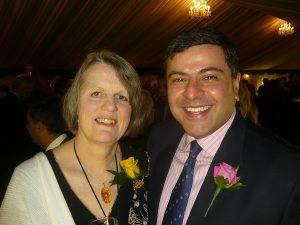 Philippa Wright and Utsav Seth