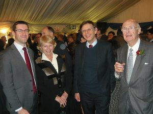 Lloyd's List Richard Meade, with Hanny Davis, Martin Stopford and Jim Davis
