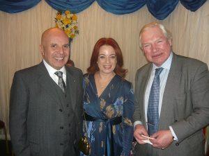 John and Anne-Marie Gauci-Maistre with Graham Edmiston