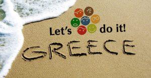 Let's do it greece(sand)