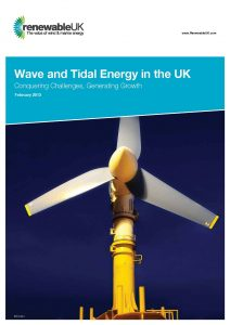 RenewableUK Wave and Tidal Energy in the UK