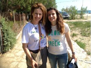Yanna Pavlopoulou and Danae Maltezou