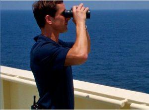 Castor Valli, maritime security officcer