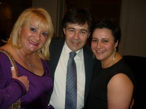 Lian Skoulaxenou, Lloyd's Registrer's Costas Papadakis and Bankcosta's Alexiana Flytzani