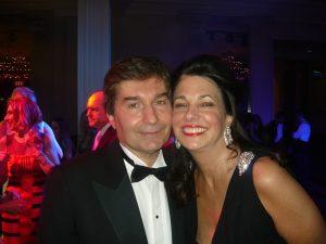 George Kountouris and his wife