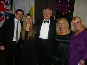 Plastic Surgeon Konstantinos Koutrolikos, Janaina and Michael Baxevanis, Anny Zade and Liana Skoulaxenou