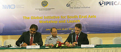 The GI-South East Asia (GI-SEA) Programme was officially launched on 21 March 2013 when IMO and IPIECA signed a Statement of Intent on Establishing the GI-SEA Programme on Oil Spill Preparedness and Response.