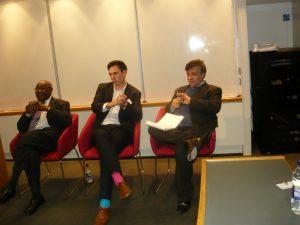 Captain Eddie Agbakoba, Joseph Croft and Jonathan Bearman