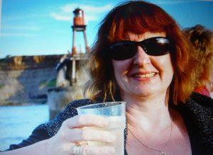 Lindy Jones on holiday in Devon