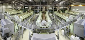 a panorama view of the ICE Garabito power plant in Costa Rica where eleven 18V48/60B engines feed 200 MW of electrical power into the national grid