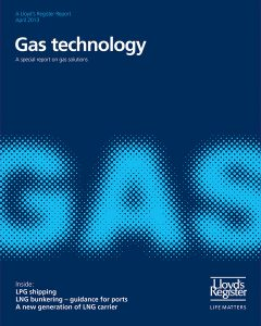 LR's Gas technology - the front cover