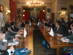 A general view from the meeting