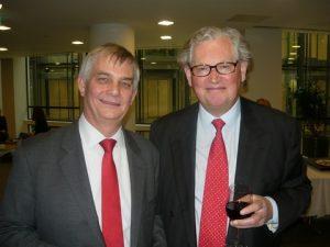 RTI's Les Chapman with Deutsche Schiffsbank AG Jeremy Hodgson
