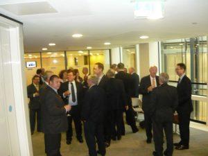 The pre-event reception