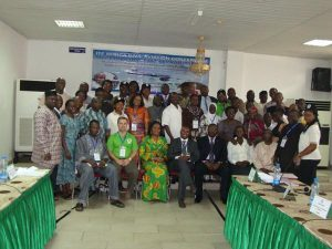 Delegates at Africa civil aviation conference, March 2013