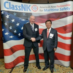Noboru Ueda and Bill Mahoney