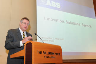 Christopher J. Wiernicki, ABS President and CEO