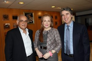 The General Secretary, Mr. D. Lemonidis, Member of the Board of Directors, Ms. I. Daifa and Treasurer, Mr. N. Bafaloukos