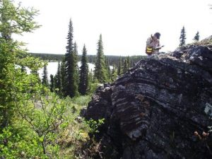Outcrop at Joyce Lake