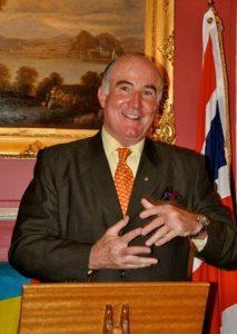 Richard Moir, chairman of Friends of the Bahamas