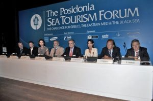 G. Gratsos, President, Hellenic Chamber of Shipping, A. Stelliatos, President, Hellenic Professional Yachts Owners Association, E. Papazachou, Legal Advisor to the Minister of Tourism,  P. Livadas, Secretary General, Greek National Tourism Organisation (GNTO) ,  O. Siches, Partner and Manager, Amarres Deportivos SL – Marina consultant & member of ICOMIA Marinas Group,  R. Pavlatou, Director, A1 Yacht Trade Consortium & BWA Yachting, Member of MYBA - The Worldwide Yachting Association,  T. Maclaurin, President, MYBA The Worldwide Yachting Association,  G. Markogiannis, Attorney at Law, Giannis Markogiannis & Associates