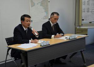 mol managing executive officers, junichiro ikeda and takaaki inoue
