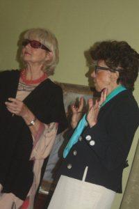 Barbara Kaczmarowska Hamilton and Rosa Maria Letts