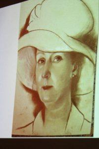 Silvia. Pastel. By Barbara Kaczmarowska Hamilton