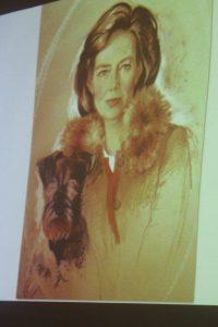 Princess Diane de Luxembourg. Pastel. By Barbara Kaczmarowska Hamilton.