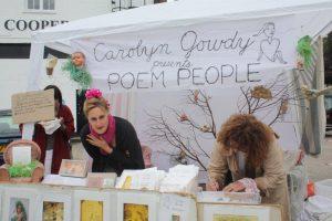 Poem people...(C) Carolyn Gowdy