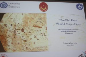 Greenwich conference focuses on Piri Reis map