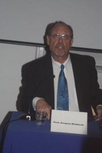 Prof Gregory McIntosh